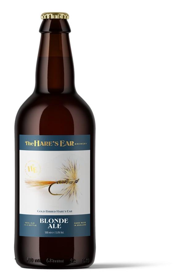Diseño de etiqueta para cervezas Blonde Ale