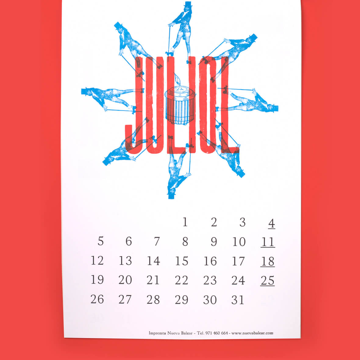 Calendario Tipográfico